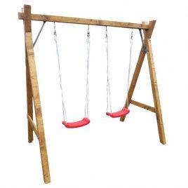 Hinta din lemn cu scaune barcuta